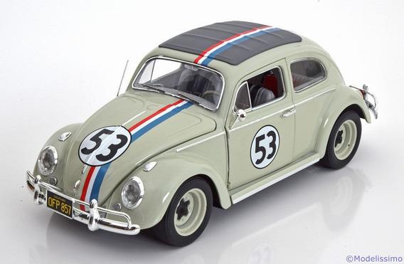 Miniatura Herbie Fusca Falasse Elite Hot Wheels 1/18