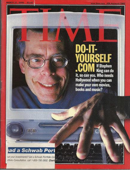 Revista Time: Stephen King / Nsync / Nelson Mandela / Bush