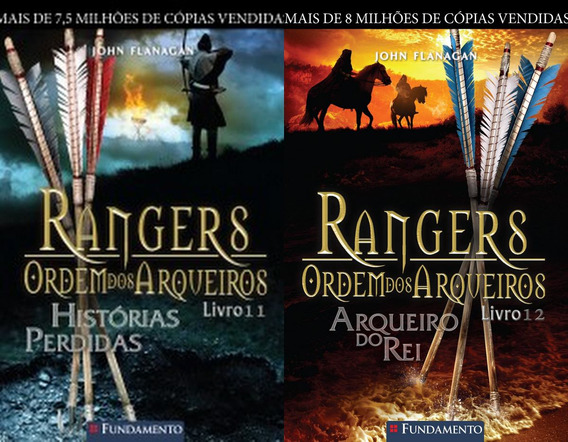 Rangers Ordem Dos Arqueiros - Volumes 11 E 12