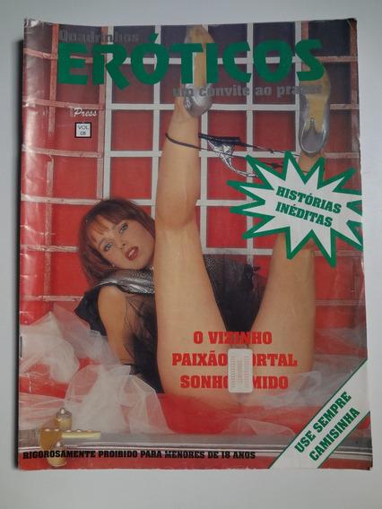 Revista Quadrinhos Eróticos Um Convite Ao Prazer Vol. 8