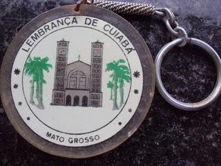 Chaveiro Lembrança De Cuiabá - Mato Grosso - P12