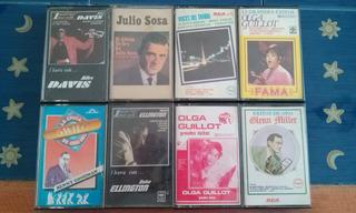 Colección Cassettes Clásicos Tango Jazz Blues Boleros