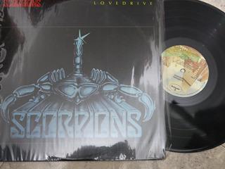 Vinyl Vinilo Lp Acetato Scorpions Lovedrive Americano