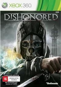 Jogo Dishonored Xbox 360 Novo Lacrado Midia Fisica