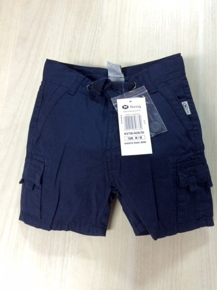 Shorts Bebê Masculino Hering - Cód. 1777