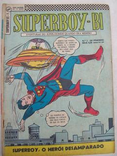 Hq: Superboy-bi Nº 1: Legião Dos Super-heróis - Ebal - 1967