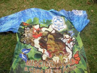 Camisa Da Escola De Samba Nações Unidas
