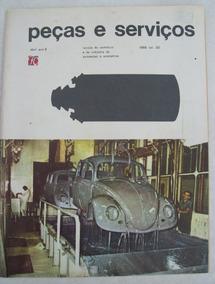 Revista Peças E Serviços Nº 30: Câmbio Dkw - Quadrajet -1966