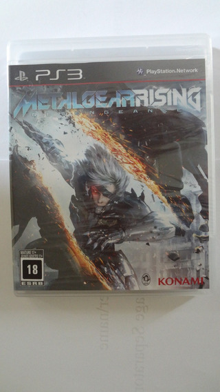 Metal Gear Rising Ps3 (black Label) Novo E Lacrado