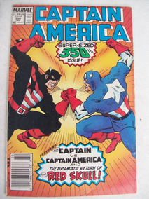 Hq: Captain America Nº 350 - Super-sized Issue - Red Skull