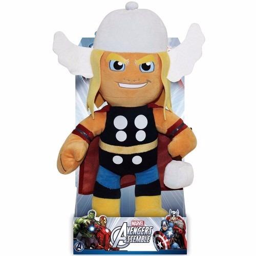 Pelúcia Thor Marvel Vingadores 32 Cm - Buba - Cod. 2516