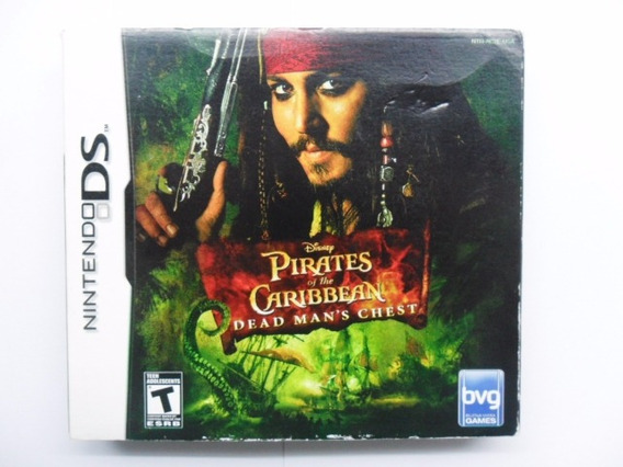 Frete Grátis Pirates Of The Caribbean Chest Ds