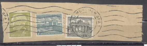 Alemania - Berlin - Fragmento De Carta (#3054)