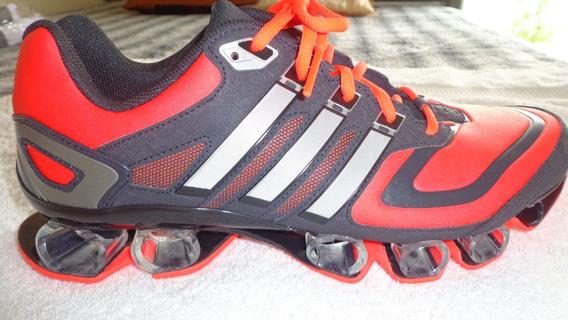 Tênis adidas Tamanho 40 Vermelho Com Preto Original