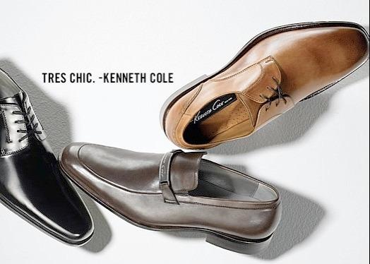 Exclusivos Zapatos De Cuero Kenneth Cole 44 ( Ref. $79.990 )
