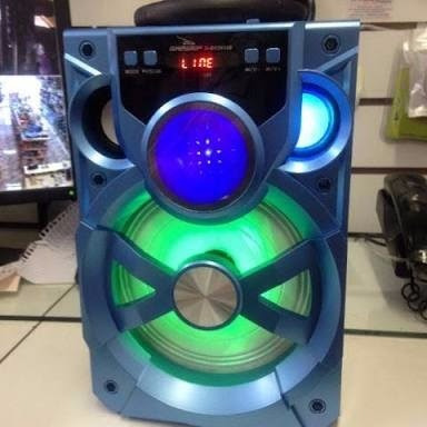 Caixa Som Portátil Amplificada Bluetooth Recarregavel E13