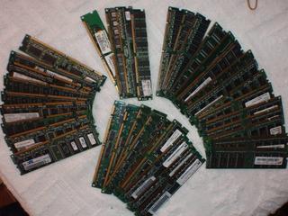 Venta Memorias Granel Dimm 133,ddr1 333/400,dd2 533/667desde