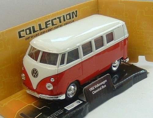 1962 Volkswagen Kombi Classical Bus Welly Escala 1:32-39