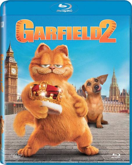 Blu Ray Clasico Familiar Garfield Parte 2 Tampico Envio Grat