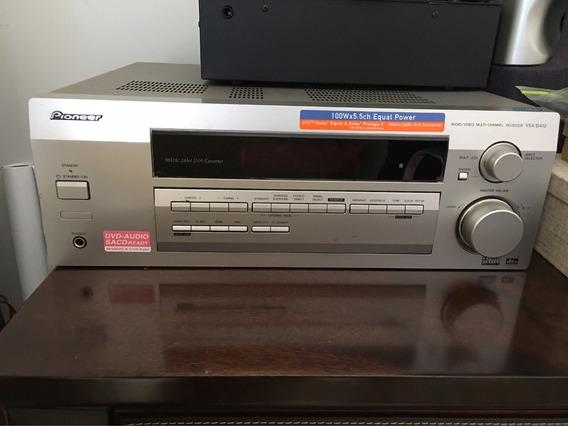 Receiver Pioneer Vsx D412 5.1 100w