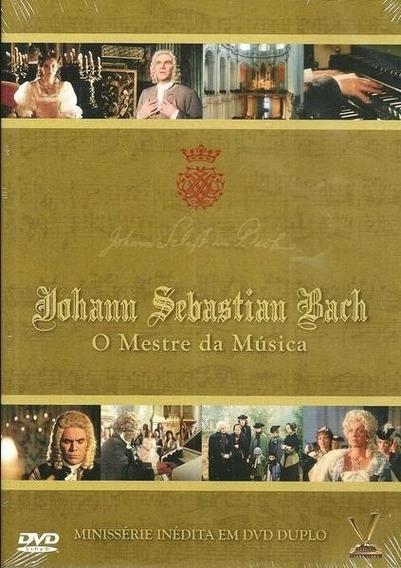 Johann Sebastian Bach - O Mestre Da Música - Dvd Duplo