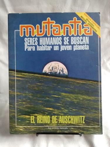 Imagen 1 de 3 de Revista Mutantia Especial Seres Humanos Miguel Grinberg 8/81