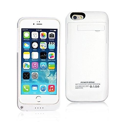 fde8736a7a0 Capa Carregadora iPhone 6 Power Bank, Bateria Externa 18000m - R$ 59,99 em  Mercado Livre