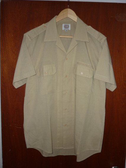 Espectacular!! Camisa M/c Orig. Ejercito Argentino- T 40
