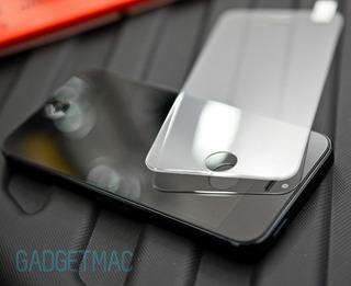 Película Vidro Temperado Glass iPhone 5 E 5s Escudo Apple