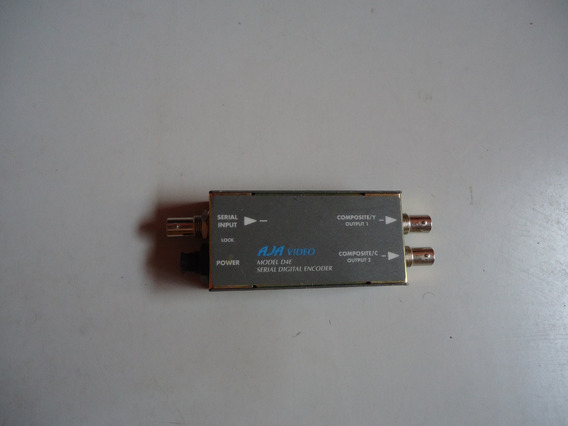 Aja Video Model D4e ( Sem Fonte E Cabo )