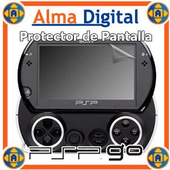 Lamina Protector Pantalla Psp Go Transparente + Paño Pspgo