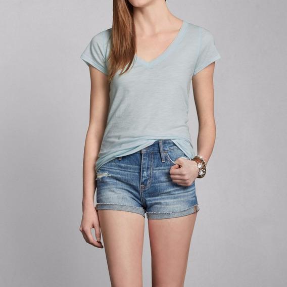 Camiseta Abercrombie Feminina Casacos Blusas Frio Hollister