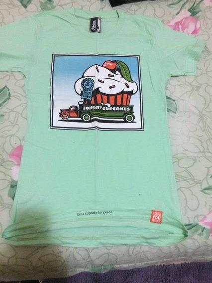 Camiseta Importada Johnny Cupackes P 100% Original