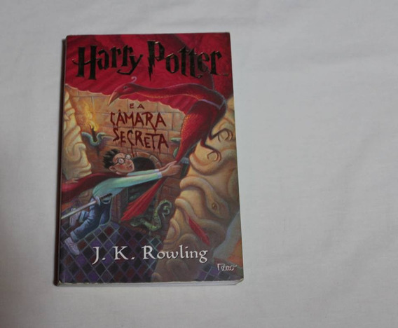 Livro - Harry Potter A Camara Secreta