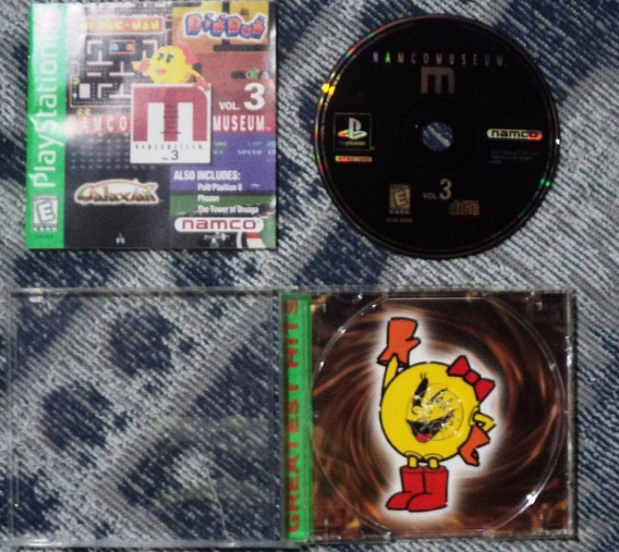 Jogo Ps1 Original - Namco Museum Vol. 3 Playstation 1 F30