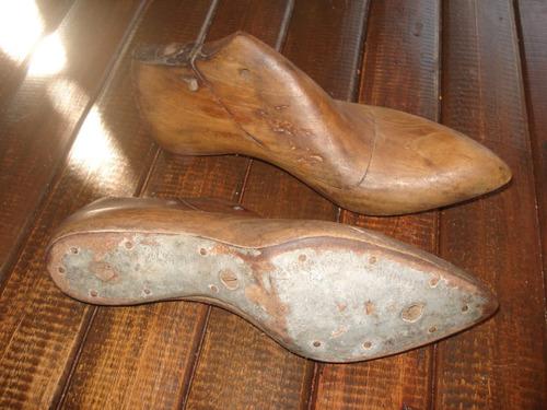 Pares Hormas De Zapatos De Madera Maciza