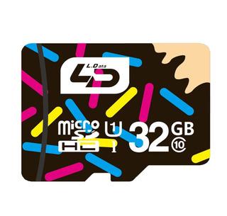 Cartão Micro Sd De 32gb 3.0 Da Ld Classe 10 Original