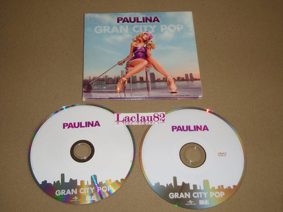Paulina Rubio Gran City Pop 2009 Universal Cd Digipack