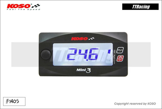 Relógio Pressão Óleo Koso 0 - 100 Psi Ou 0 - 7 Kgf/cm2 #1405