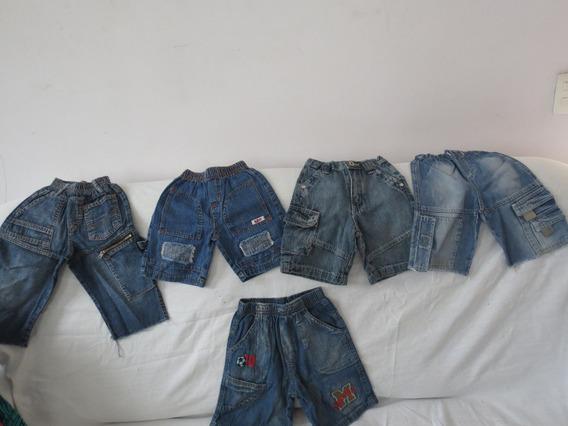 Bermuda Jeans Menino 2 Anos