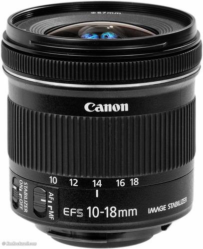Nova Lente Canon 10-18mm Is Stm C/ Nf-e Garantia 1 Ano Canon