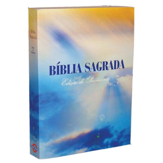 15 Biblia Sagrada Pequena Brochura Edição De Promessas Rc