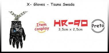 Colar X-gloves - Tsuna Swada (reborn)