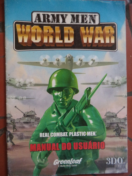 Army Men World War = Manual Do Usuário Do Jogo World War