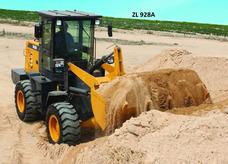 Máquina Pá Carregadeira, Carregadeira De Concha Opera 4400kg