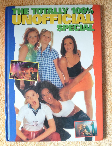 Livro The Totally 100% Unofficial Special - Spice Girls