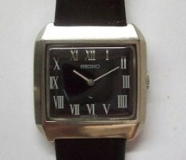 Relógio De Pulso Seiko Caixa De Aço Corda Manual, Raro