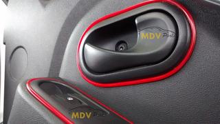 Friso 3d Painel Porta Volkswagen Ford Gmc Chevrolet - 5mt