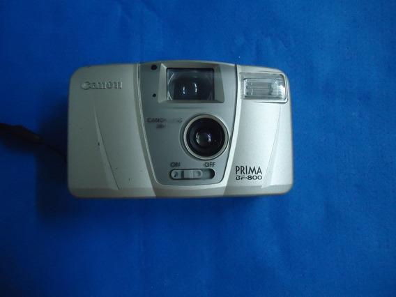 Câmera Fotográfica Antiga Canon Prima Bf-800