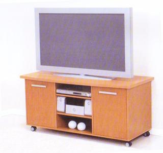 Mesa Tv Rack Con 2 Puertas Espacio Para Audio Ditalia R162